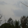 Wind turbine installed in the Sundarbans, West Bengal (Image by Joydeep Gupta)