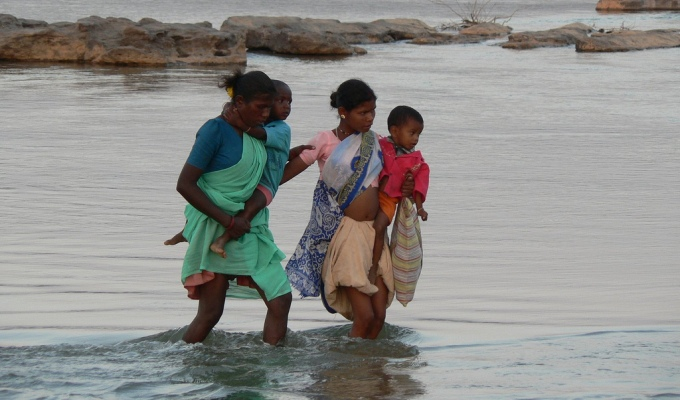 Women and children are 14 times more likely to die than men during natural disasters, according to UN Women. (Image by  Rajkumar1220)