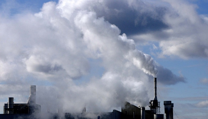 In 2013, the carbon dioxide concentration reached a new high of 396 ppm, up from 250 ppm at the start of the Industrial Age in 1750. (Image by UN Photo/Kibae Park)