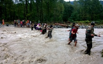 Kashmir floods may be an effect of climate change