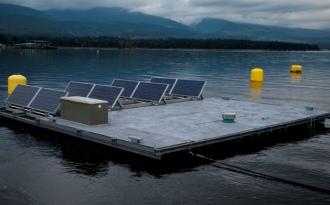 Maharashtra races to build India's first solar farm on dam wall