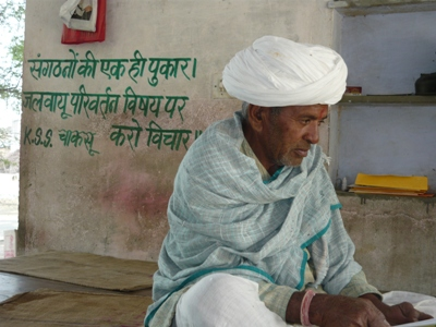 70-year old Kalyan Mal Singh has played an instrumental role in tackling water woes of Bapu Gaon through nature conservation.