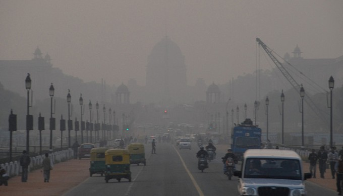 Delhi is the world's most polluted city, according to the WHO, and the Yamuna in Delhi is India's most threatened stretch of river (Image by Mark Danielson)