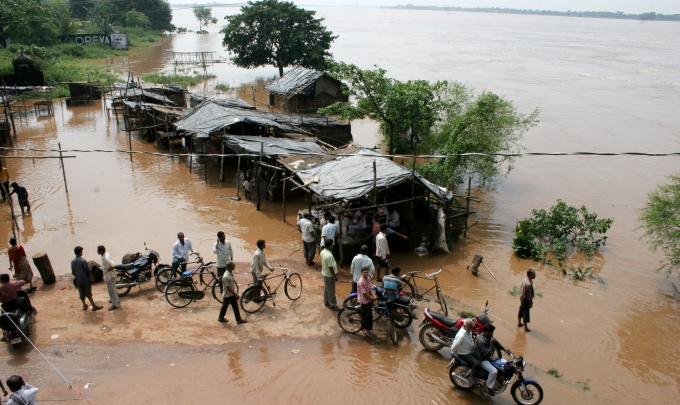 UN International Strategy for Disaster Reduction pegs global economic losses by the end 2100 at $25 trillion, much of it to be borne by developing countries unless strong measures for climate change adaptation, mitigation and disaster risk reduction are taken. (Image by Manipadma Jena)