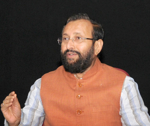 Prakash Javadekar, India's Minister of State for Environment, Forests and Climate Change (Image by Press Information Bureau, Government of India)