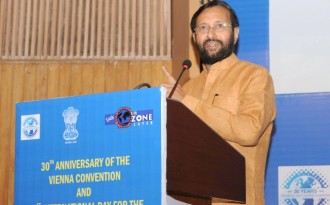 Prakash Javadekar, Minister of State for Environment, Forest and Climate Change (Image by Press Information Bureau, Government of India)