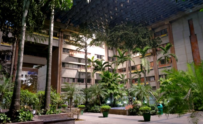 An audit shows that India Habitat Centre in Delhi is among 16 buildings that can help save enough energy needed to power 400 urban homes in India. (Image by Ronit Bhattacharjee)