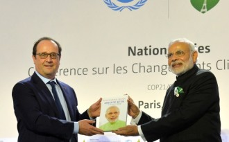 India hits back at critics with solar alliance