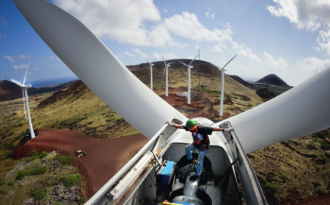 China's wind power overtakes the EU