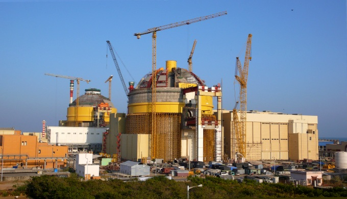 An image of Kundakulam nuclear power plant in Tamil Nadu taken in 2013. Ever since it began, it has faced a series of shutdowns that has impacted its production. (Image by Petr Pavlicek / IAEA)