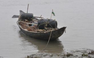 No silver sheen in the Ganga