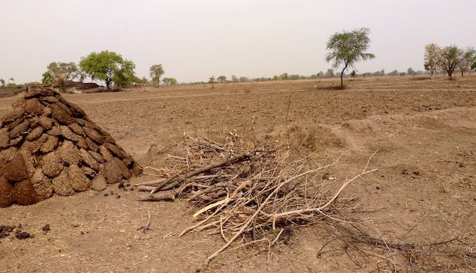 The drying up of wells in Paldev Ka Purwa has meant unsowed, barren fields.