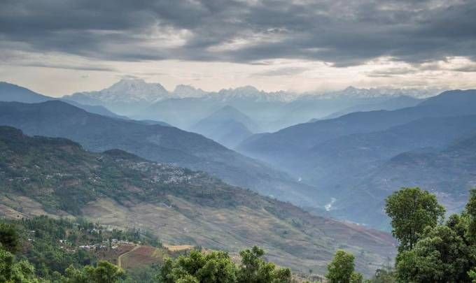 The Koshi is Nepal's largest river. A view of Mount Gauri Shanker and the Tamakoshi river from Charikot, Dolakha, Nepal. The Tamakoshi is one of the seven rivers that make up the Koshi (All photos by Nabin Baral)