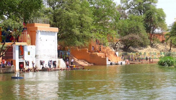 The Shipra becomes a river on steroids, filled with waters of the Narmada.