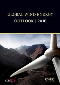 Click here to download 'Global Wind Energy Outlook 2016'