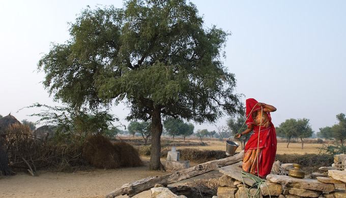 El Nino and failed monsoons have impacted water availability in many parts of India. (Photo by Enut Erik HElle)
