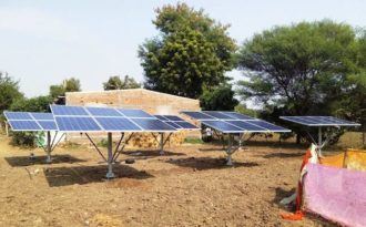 Solar cooperative sets benchmark in eco-friendly farming