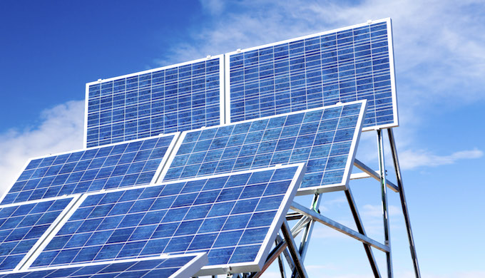 Solar power is rising rapidly in India. (Photo by NAIT)