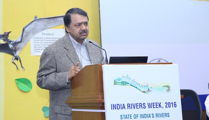 India's water secretary Shashi Shekhar. (Photo by WWF)