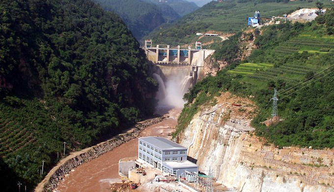 Small hydro dam projects, like this one in Yunnan province, are being closed down in a bid to reduce overcapacity (Image by Baike Baidu)