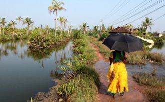 Sinking dreamland: sea reclaiming islands in Kerala backwaters