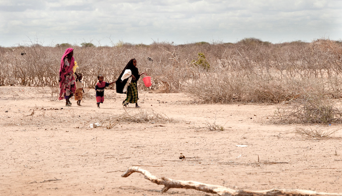 Severe droughts in East Africa are causing malnutrition rates to soar. (Photo by Colin Crowley)