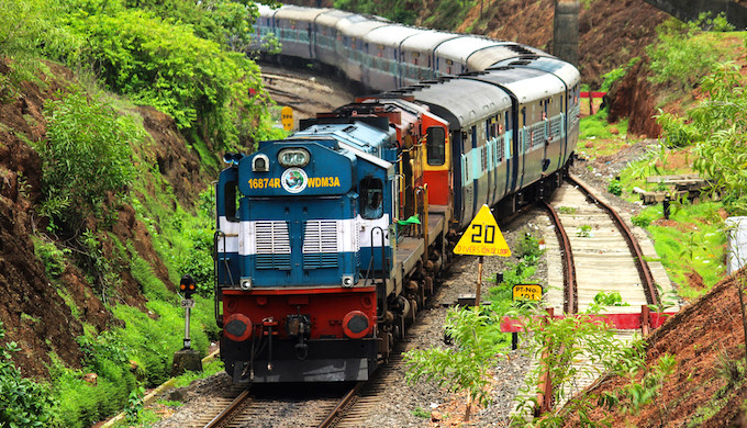 Indian Railways, the biggest consumer of diesel in the country, is adding renewables to its energy mix. (Photo by B. Ashok)