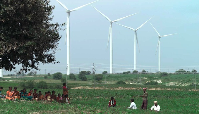 Wind energy has come of age in India. (Photo by LM Wind Power)