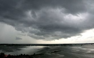 Rain-bearing clouds thinning out over India