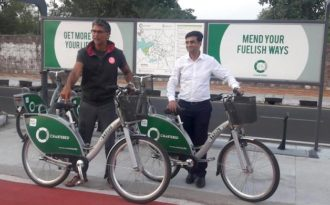 Bhopal's bike sharing sets new trend