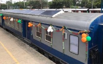 India to have more solar-powered trains