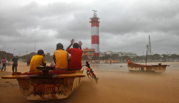 Cyclonic storms batter Chennai with increasing frequency (Photo by Vinoth Chander)