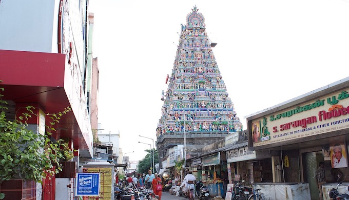 The narrow streets of Mylapore in Chennai were less affected during the 2015 floods but took relatively more time to recover (S. Gopikrishna Warrier)