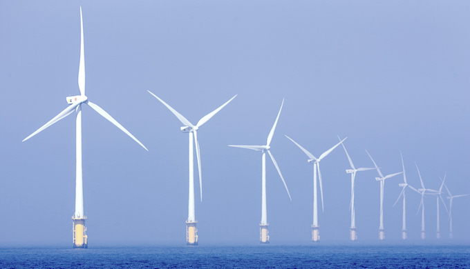 The potential of offshore wind farms is largely untapped in India (Photo by Nuon)
