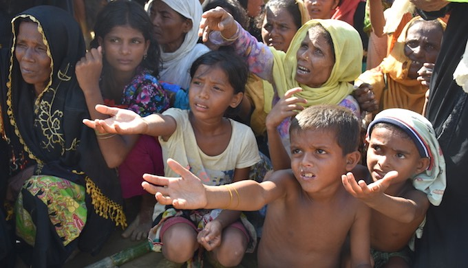 Women and children are the worst sufferers of the Rohingya crisis. Among the refugees, 53% are women and girls, 4% are over 60 and 29% are under five. Most of them are suffering from diarrhoea, malnutrition and pneumonia (Photo by Zobaidur Rahman)
