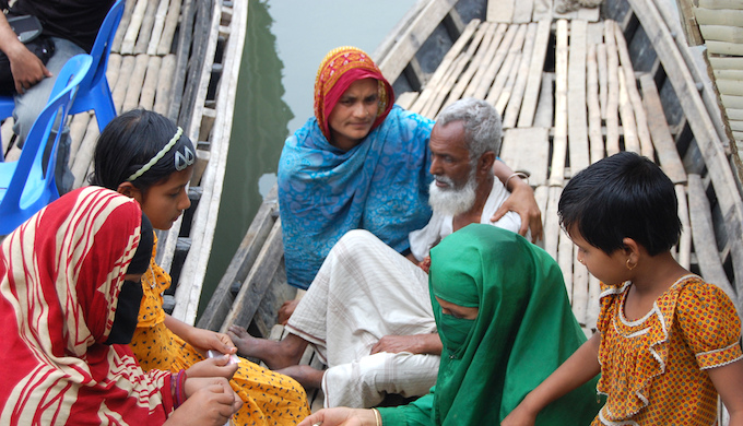 Frequent floods and cyclonic storms in South Asia are forcing people to migrate (Photo by Flickr)
