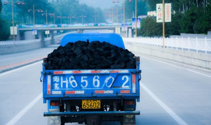 Coal is still a large part of China's growth story [image by: Han Jun Zeng]
