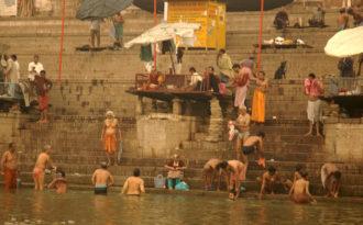 The Ganga through wide-angle British lens