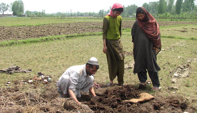 No work has been done of Jammu and Kashmir's sustainable agriculture mission (Photo by Athar Parvaiz)