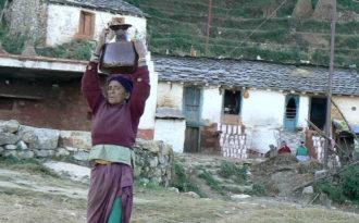 Himalayan villages reap benefit of recharging springs