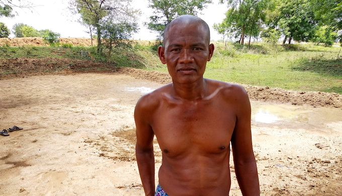 Uddhaba Sabar, a stressed farmer in poverty stricken Nuapada district in Odisha, has been facing recurring droughts. Photo credit: Ranjan K Panda