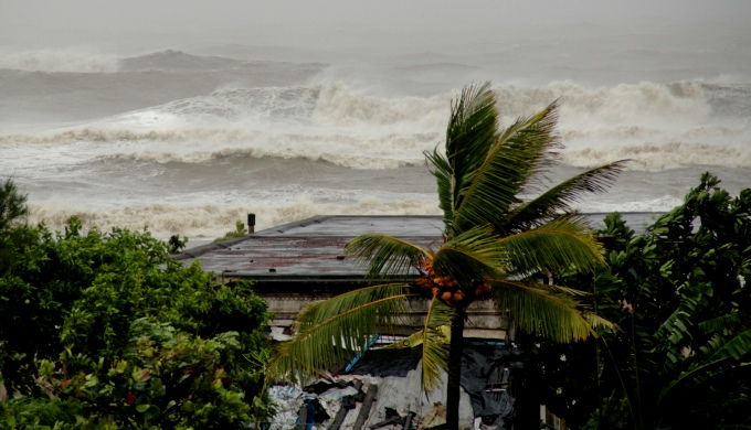 According to weathermen, cyclone Phailin that struck the Odisha coast last year was the second strongest storm ever to hit India's east coast. (Image by Save The Children)