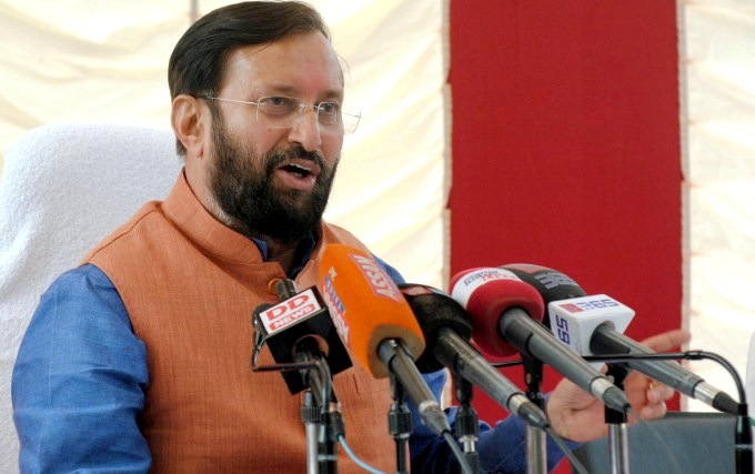 Prakash Javadekar, Indian Minister of Environment, Forest and Climate Chang (Image by Press Information Bureau, Government of India)