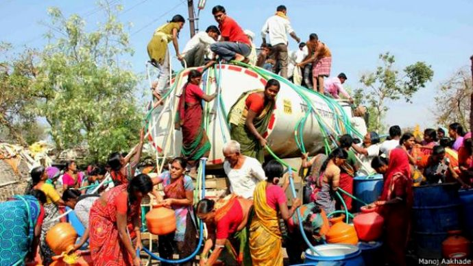 Critical water crisis in Latur, Maharashtra (Image by Atul Deulgaonkar)
