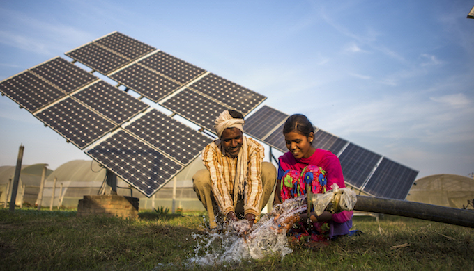 Mini grids based on renewable energy sources can be a viable model for India. (Photo by Prashanth Vishwanathan)