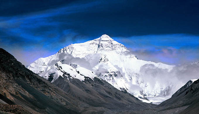 A view of Mount Everest. (Photo by Stefan Perneborg)