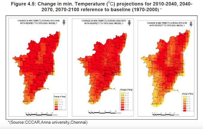 Pic 2 Change in minimum temperature