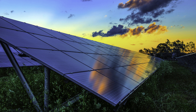Solar power plants could soon become costlier to finance. (Photo by Jonathan Potts)