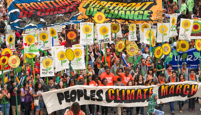 The Trump administration may provoke climate activists to take to the streets. (Photo by Robert van Waarden)