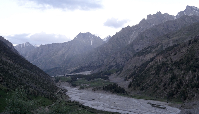 The Miyar valley.